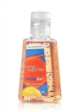 Orange Sapphire Pocketbac Orange Sapphire Bath And Body Works