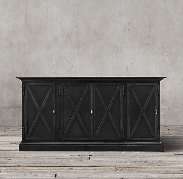 Dining Room Sideboard Option 19Th C Swedish Panel Metal 4 Door