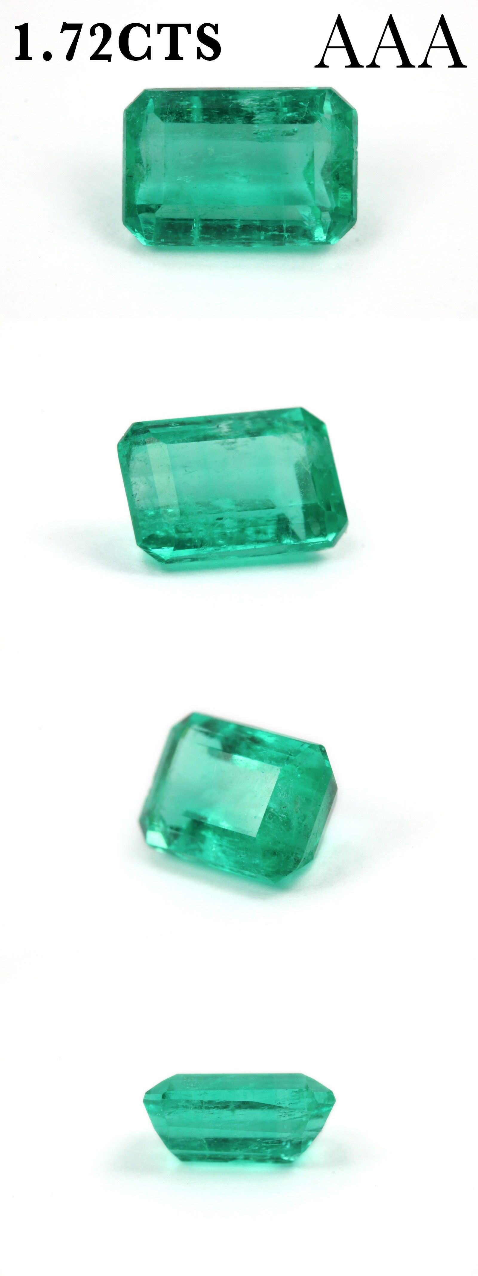 pin aaa colombian natural green emeralds loose emerald medium bluish