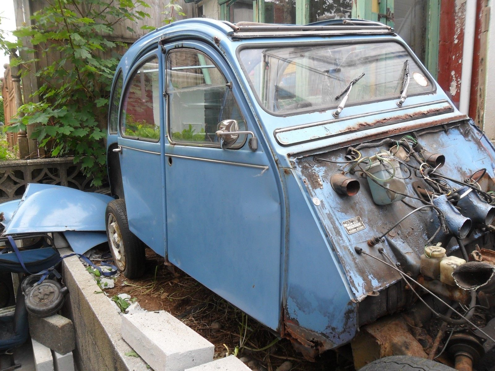 Citroen 2cv6 Paris Restoration Project Absolute Bargain