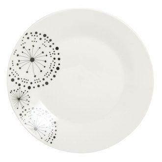 """Blanc Céramique Grand oiseaux sur fil JARDINIERE 6.5/"""" Diamètre"""