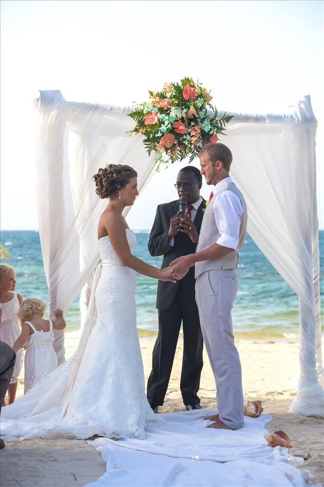Montego Bay Jamaica Wedding Pictures Iberostar Rose Hall 003