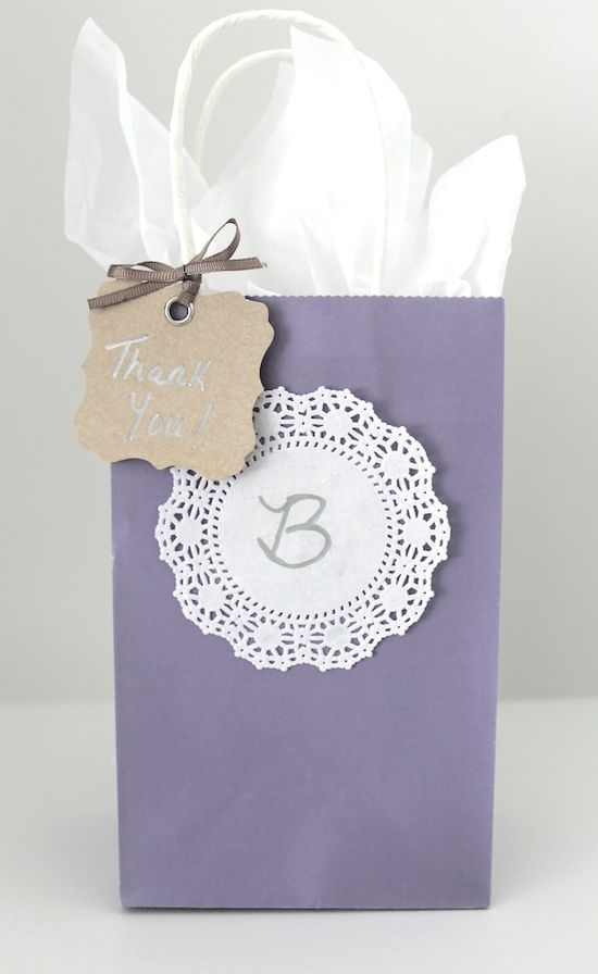 Diy Gift Bags Frou Frou Frills Great Goody Bag For A Baby