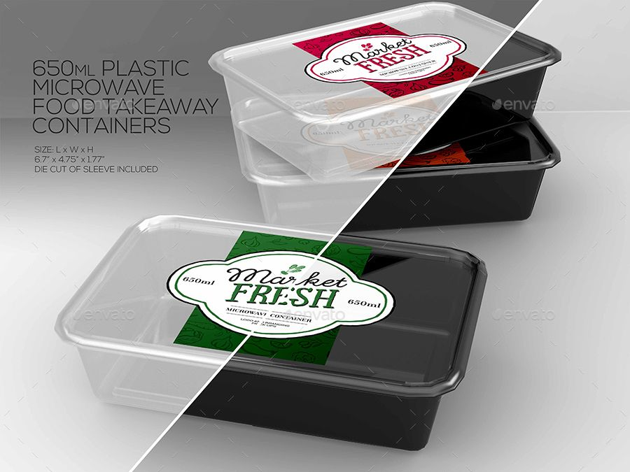 Fast Food Boxes Vol 4 Take Out Packaging Mock Ups Takeaway