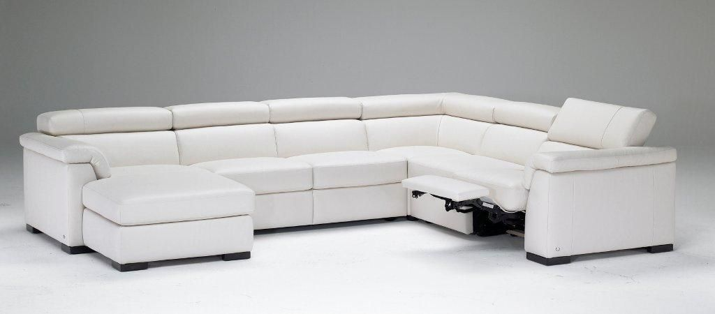 Tv Meubel Natuzzi.This Italian Leather Reclining Sectional From Natuzzi Is One Of