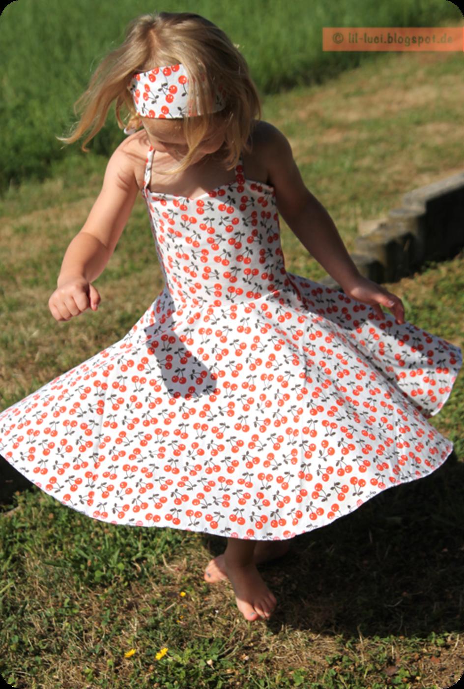 Kostenloses Schnittmuster Petticoat-Kleid von