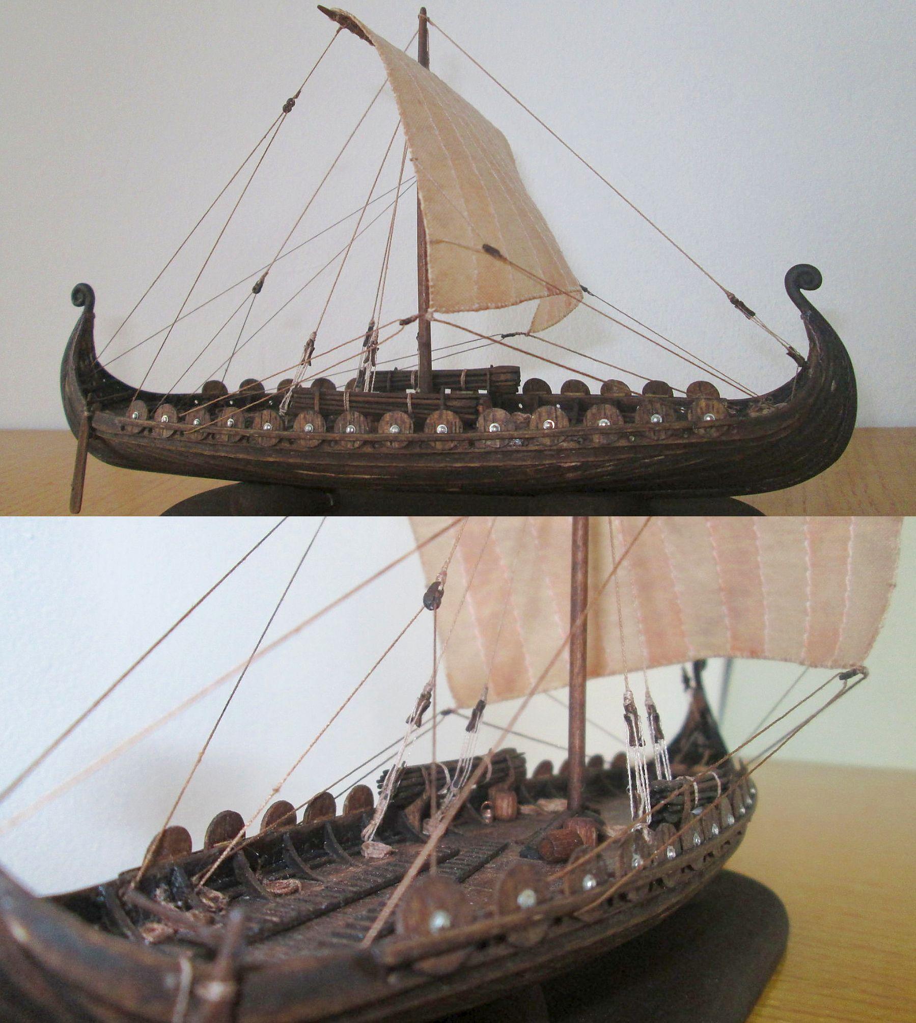 viking model ship scale 1 100 http atriellme deviantart com