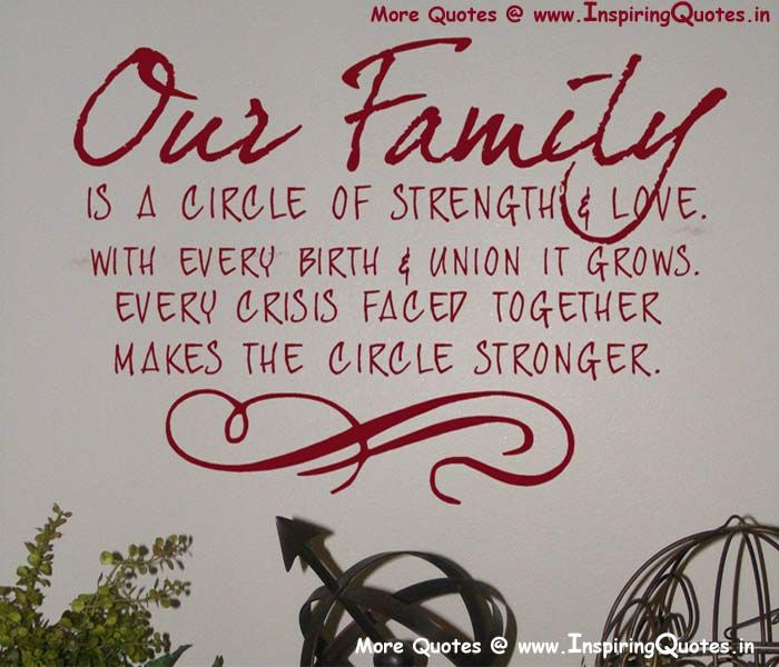 Inspirational Quotes About Family Love: Love Family Sayings, Quotes, Inspirational Sayings About