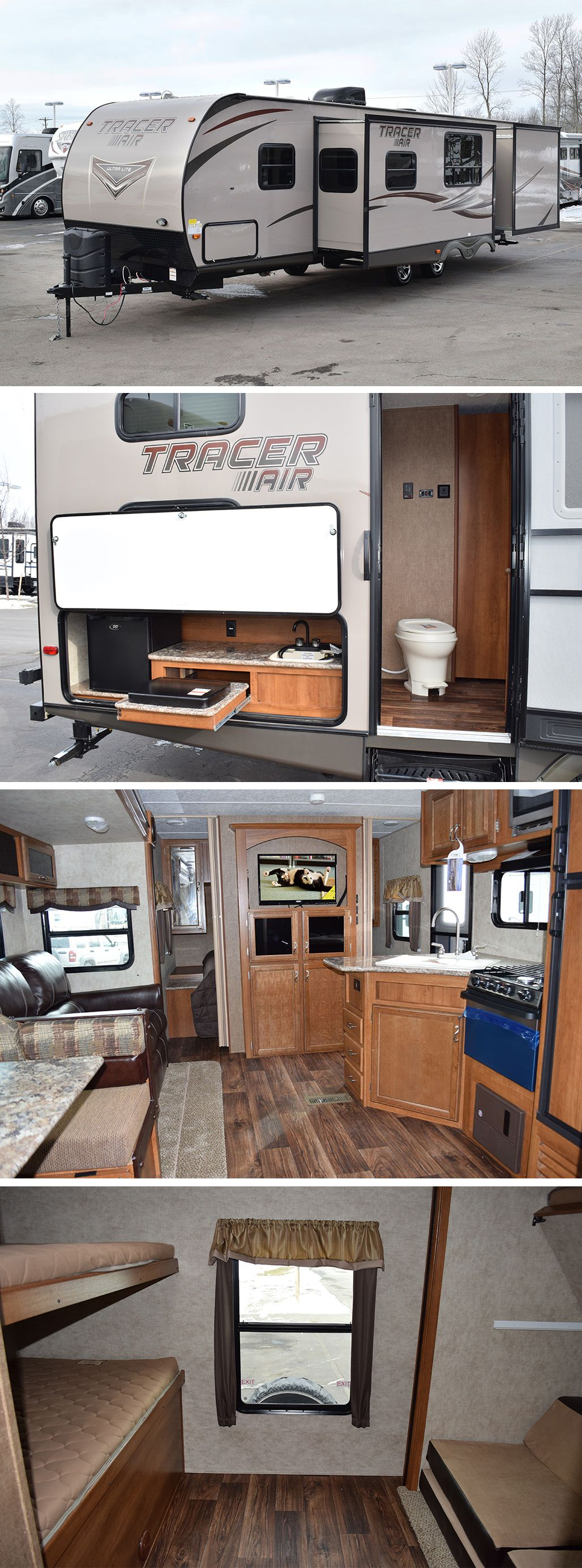 2015 Prime Time Tracer SWT1256 Toy hauler travel