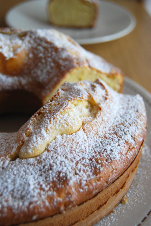 Ciambellone Ring Cake - Old Days Italian Staple - Ciambellone Recipe