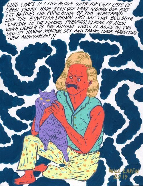 Will Laren — Sphinx Lifestyle original painting