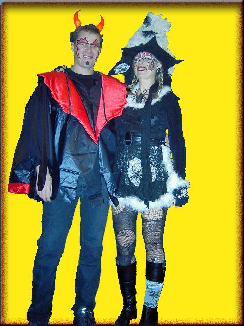 Der Teufel und die Hexe - ein Werk von Waltraud