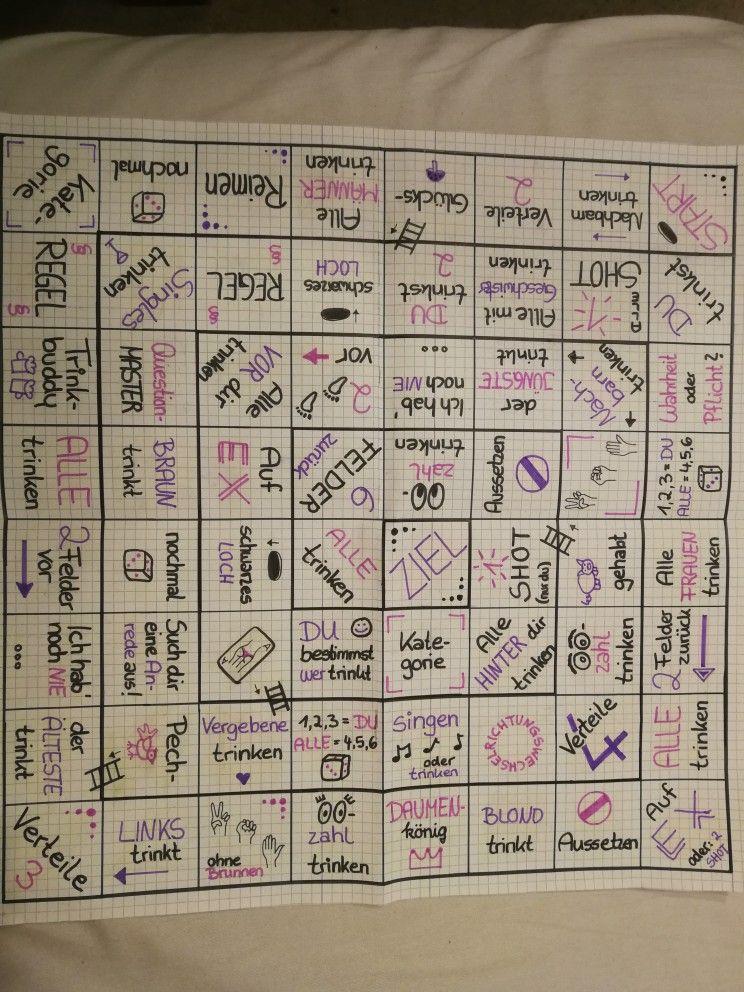 Machen trinkspiel brettspiel selber Trinkspiel Selber
