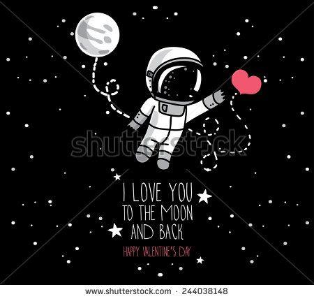 astronaut space love - photo #1