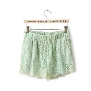 Buy 'Pretty Daze – Lace Shorts' with Free International Shipping at YesStyle.com. Browse and shop for thousands of Asian fashion items from China and more!