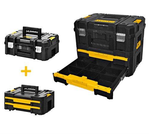 Dewalt Werkzeugbox Tstak Combo Tools Tools Garage