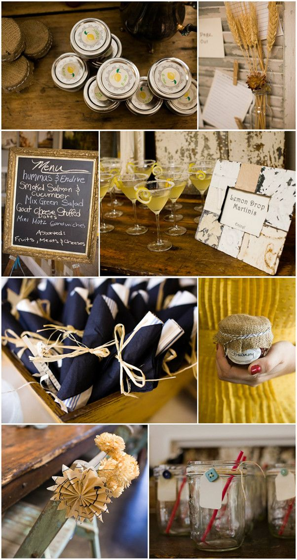 bridal shower ideas rustic theme cooking theme garden theme and vintage theme