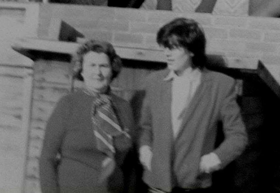 JT and mum Jean