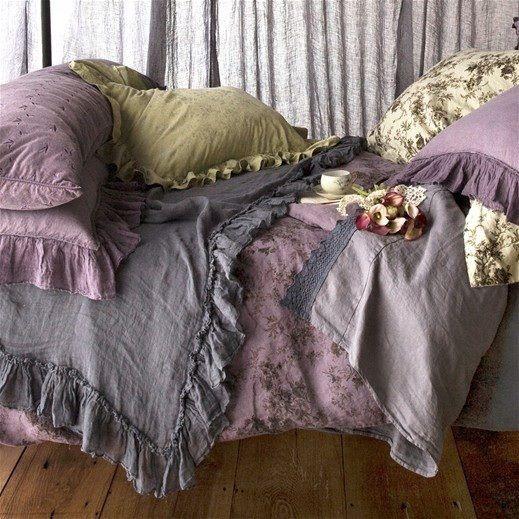 ♥purple bedding
