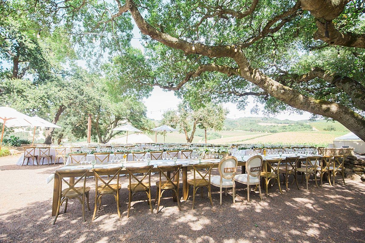 Outdoor wedding venue favorites in sonoma county kunde