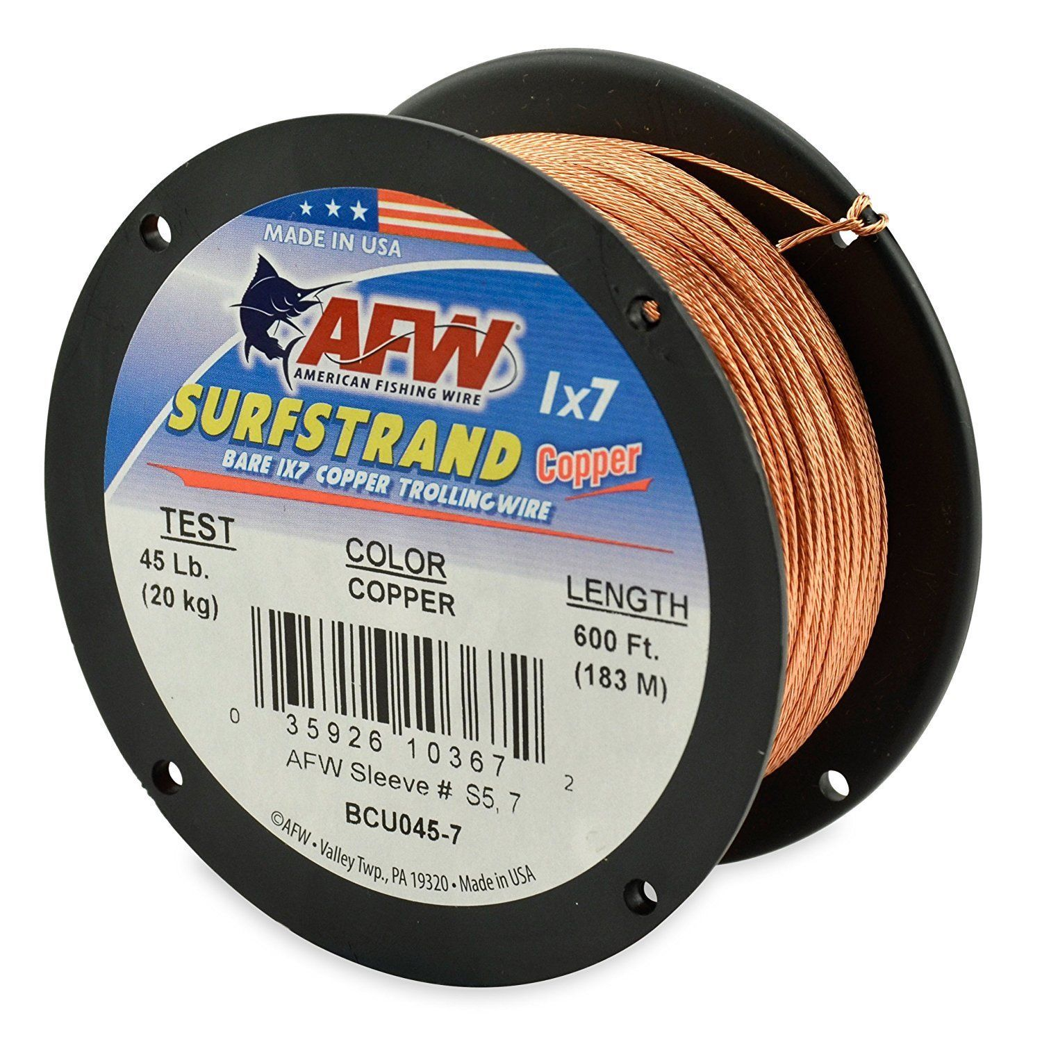 Leaders and Leader Material 179970: American Fishing Wire Surfstrand ...