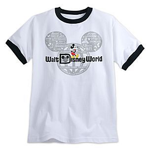 a639a1b5e Mickey Mouse with Walt Disney World Logo Tee for Adults - Ringer   Disney  Store Walt Disney World is your vacation kingdom for making magical  memories in ...