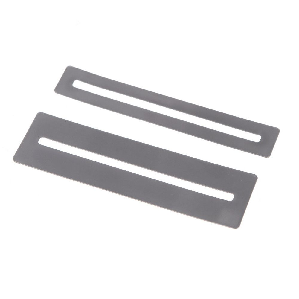 2pcs/lot Bendable Stainless Steel Fretboard Fret Protector Fingerboard Guards For Guitar Bass Luthier Tools