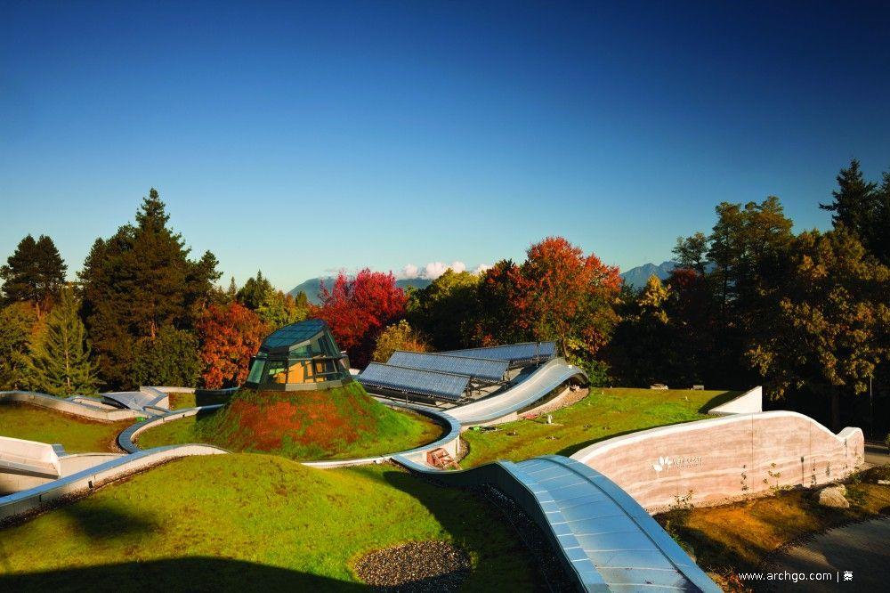 ArchGo! 加拿大,温哥华植物园游客中心/ Perkins+Will Botanical gardens
