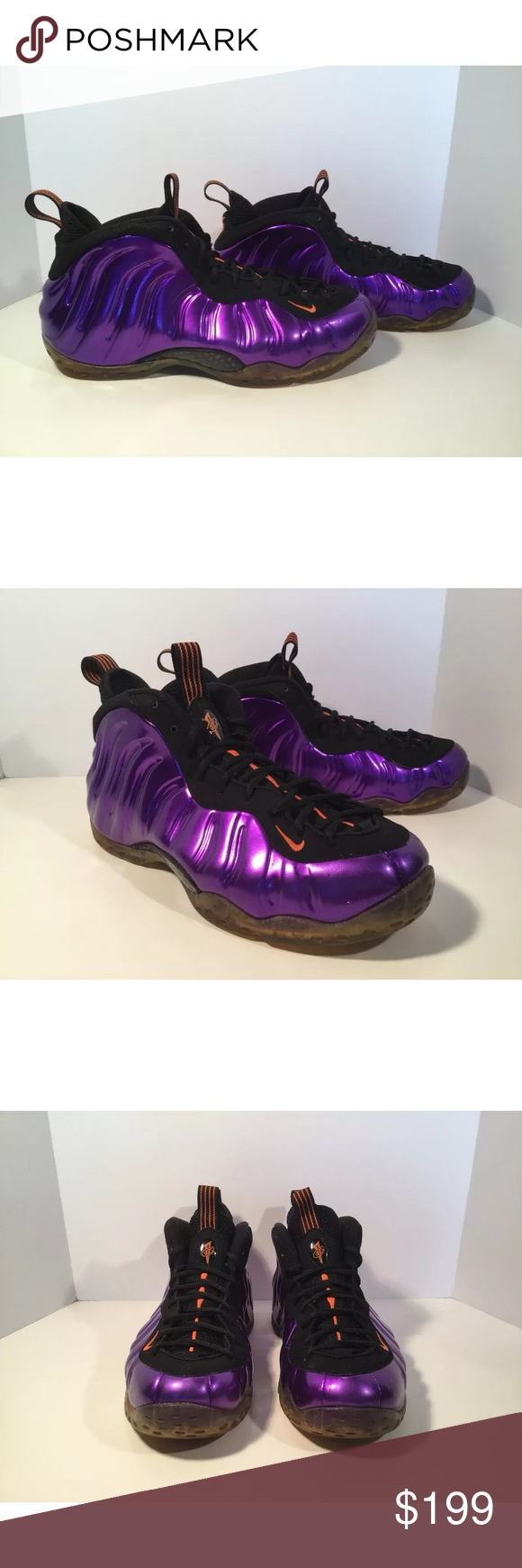 86bef74f365 Nike Air Foamposite One Phoenix suns
