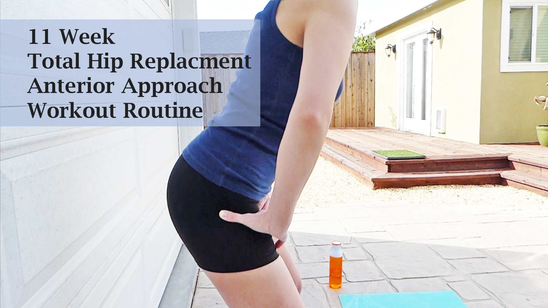 11 Week Post Hip Replacement Workout Youtube Exercise