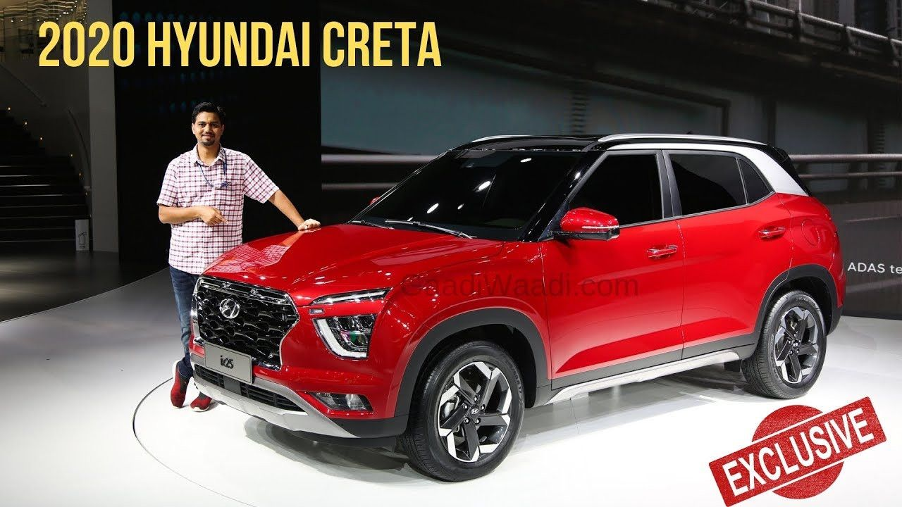 Hyundai Creta 2020 Model Concept For Hyundai Creta 2020 Model Interior Di 2020