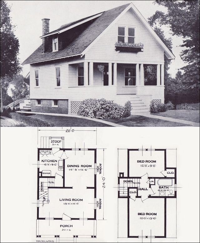 17 Best 1000 images about Vintage House Plans on Pinterest Gothic