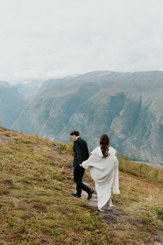 Adventurous Norway Elopement   Wedding Photographer ...