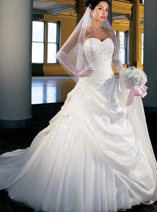 Brautkleid Crystal   Brautkleid, Zusenden und Reifrock