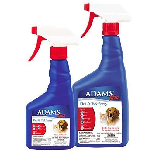 Cat Dog Adams Flea Tick Treatment Killer Control Spray Remedies Pet supplies New #Adams