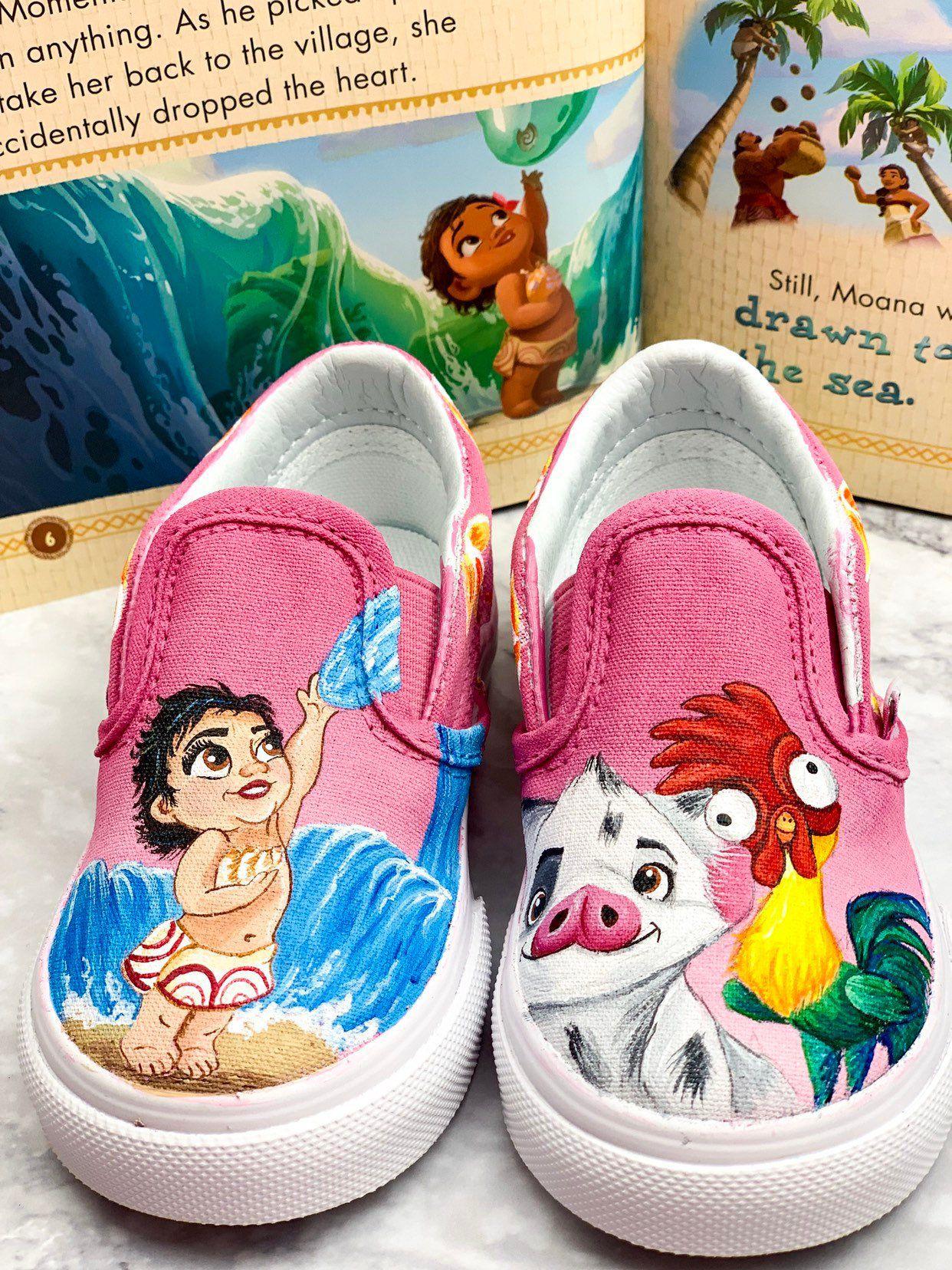 Custom vans shoes, Disney shoes
