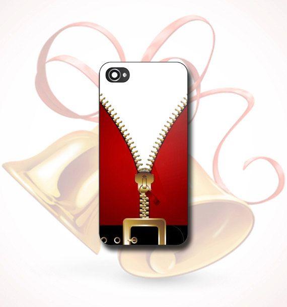 Suit Santa Clous  Print on hard plastic  iPhone by FunCase4You, $13.00