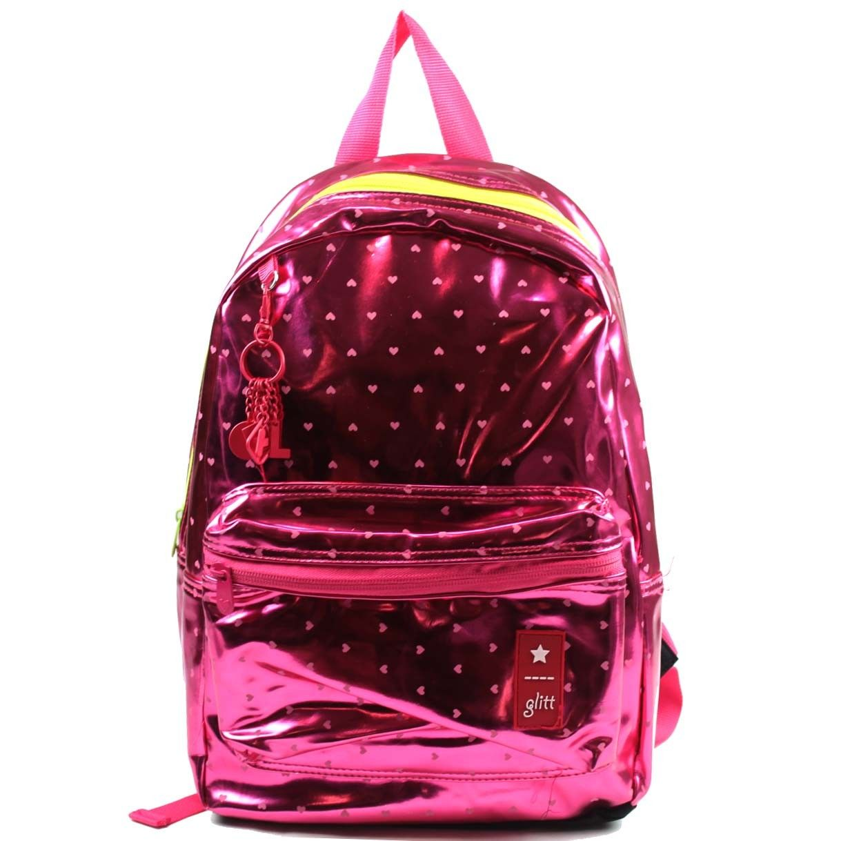 Bolsa Escolar Feminina Infantil : Mochila feminina seanite glitt mara bolsas malas e