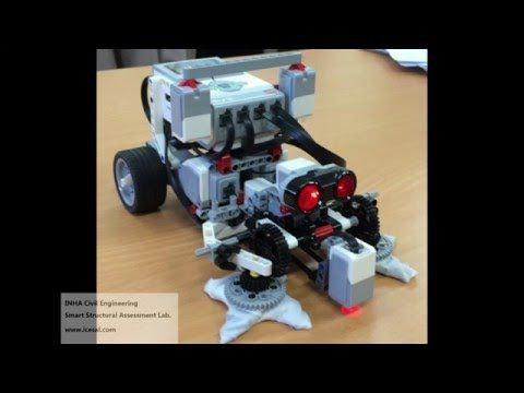 LEGO Mindstorms EV3 (마인드스톰 EV3) - Table Cleaning Robot