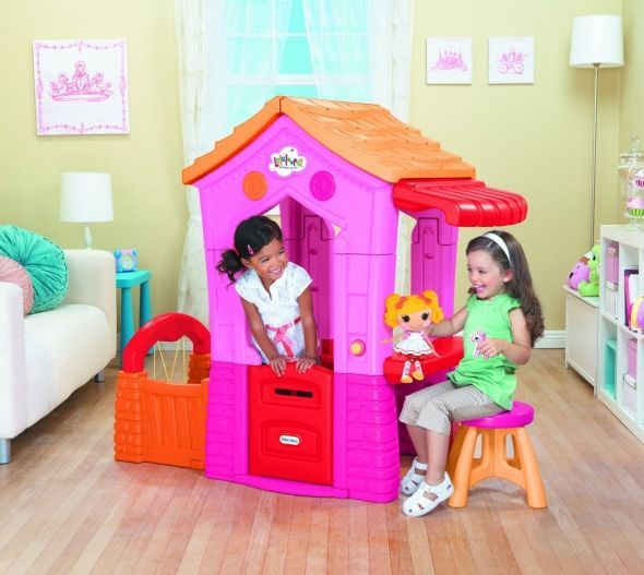 Play house - you can never go wrong with this one as it's a perfect gift for a little girl