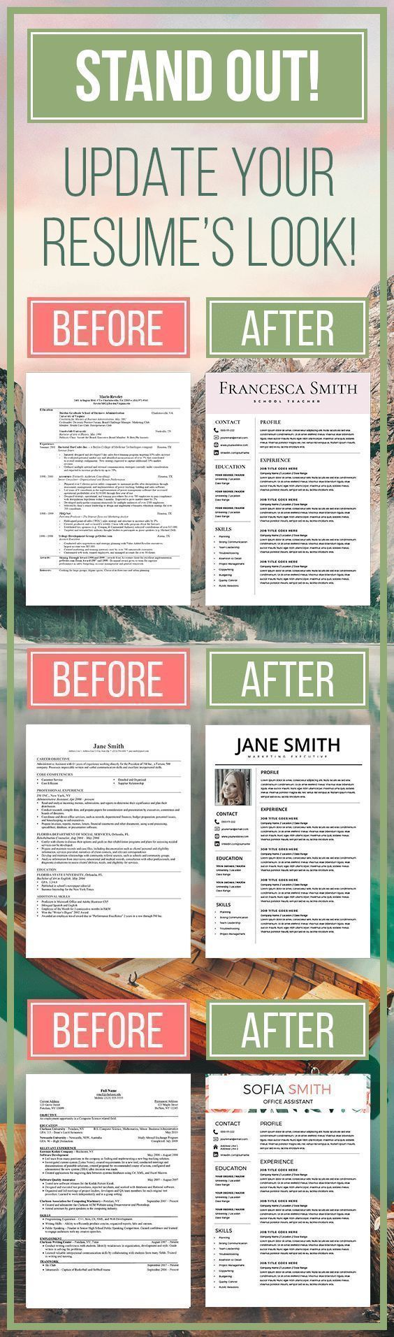 Resume template Resume Design Cv template Professional