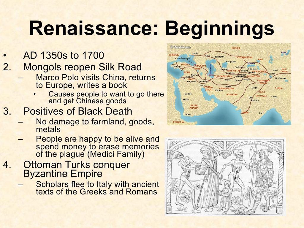 Short Slideshow about the Italian Renaissance [courtesy of Britany