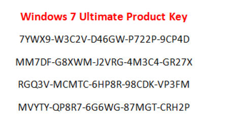 Windows 7 Ultimate Product Key Free Download Microsoft Windows Operating System Computer Basics Windows