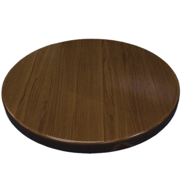 American Tables Seating Atr30 W Resin 30 Round Table Top Walnut Round Table Top Table Seating Restaurant Table Tops