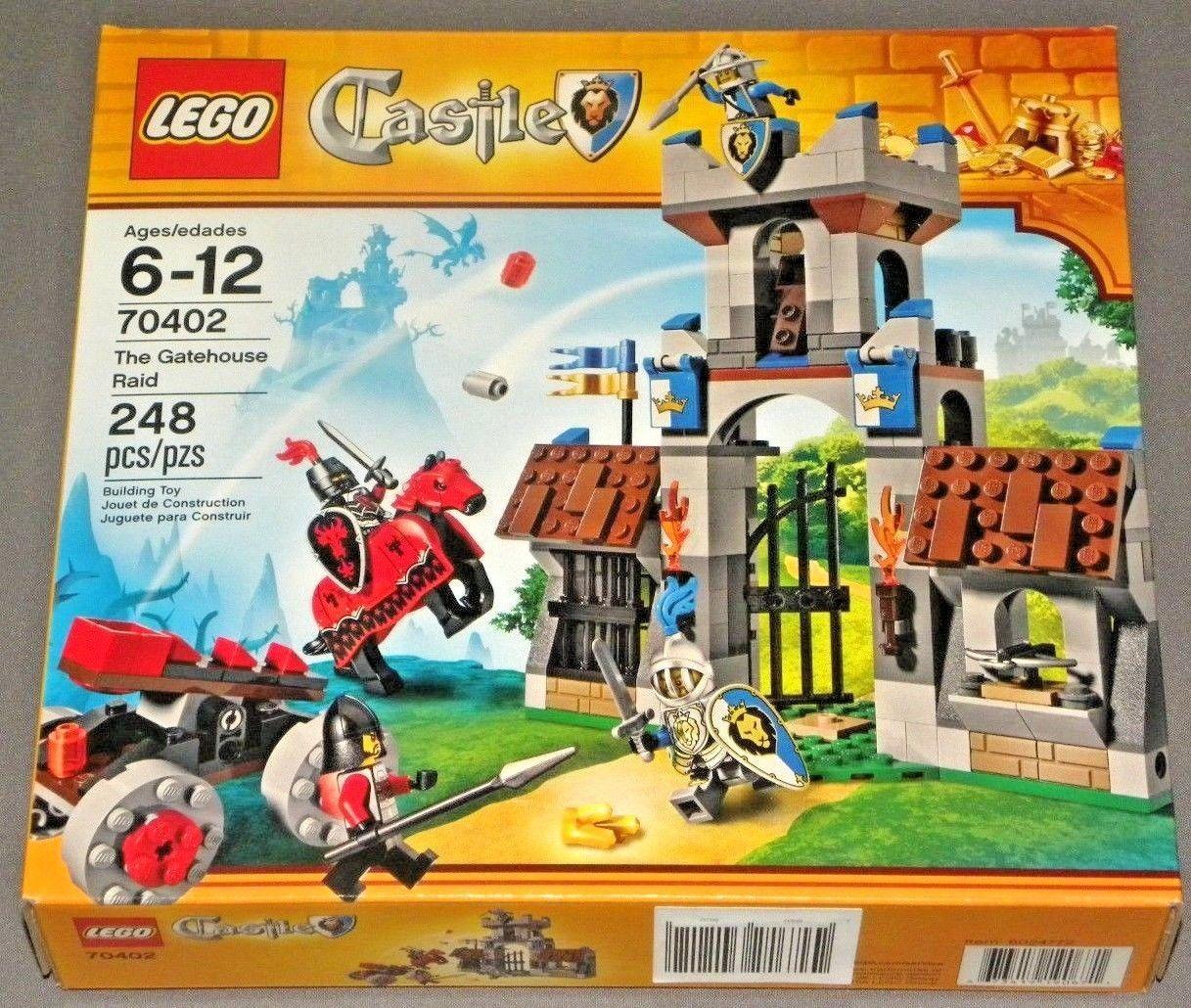 New In Box Lego Castle Set 70402 The Gatehouse Raid Knights Horse