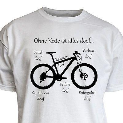 Nukular T Shirt Motiv Ohne Kette Ist Alles Doof Mtb Fahrrad