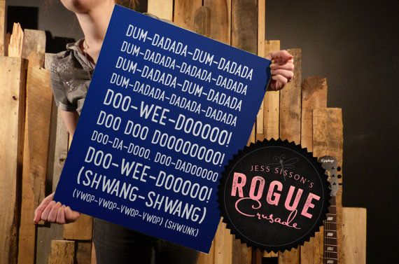 Doctor Who Theme Inspired Typography Art Start by RogueCrusade, $3.49