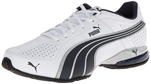 Mens Shoes PUMA Cell Surin White/New Navy/Puma Silver
