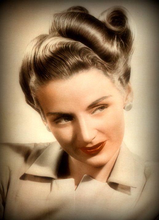 1945 peinado color