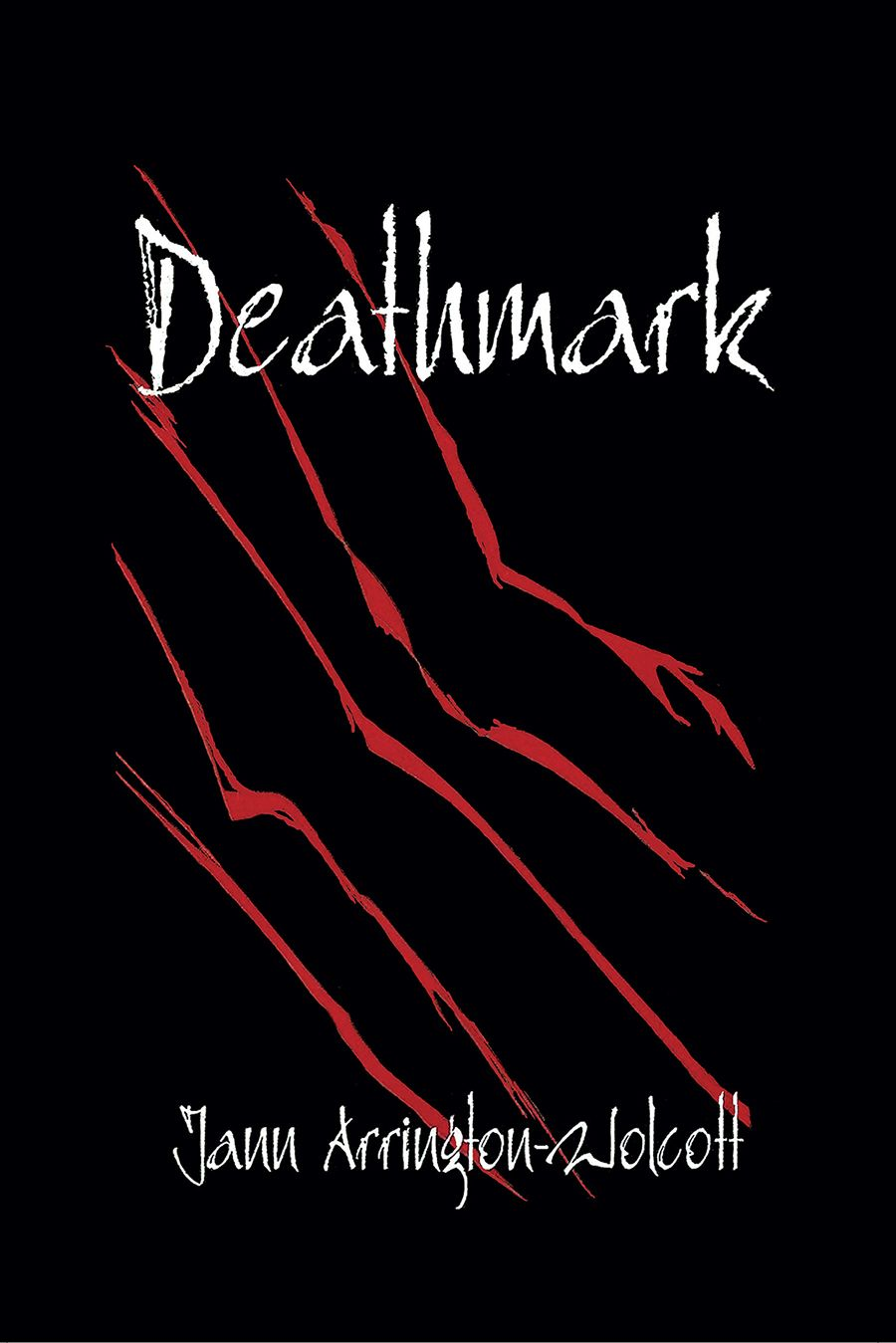 DEATHMARK by Jann Arrington-Wolcott.Great mystery/suspense. Older woman and younger man. Is he who he says he is and what is the strong attraction between them? Do the dreams that inform her work have any connection? Great read!